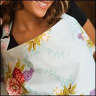 Floral Udder Cover