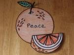 Peace - Orange